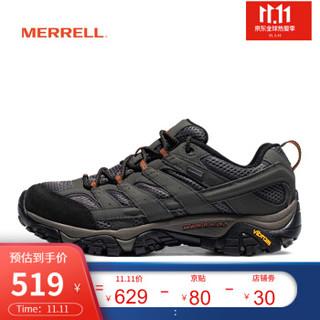 MERRELL迈乐 男鞋 MOAB GORE-TEX 徒步鞋 防水耐磨 缓震登山 J06039