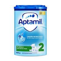 Aptamil 爱他美 经典版 较大婴儿奶粉 德版 2段 800g 易乐罐