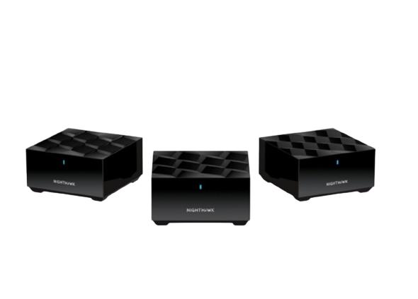 NETGEAR 美国网件 MK63 1800M 千兆双频 WiFi 6 分布式路由器+ MS60*2只 分身套机