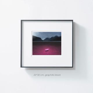 冲鸭 : PICA Photo《泽上白岩》加拿大艺术家贝努瓦限量收藏摄影作品
