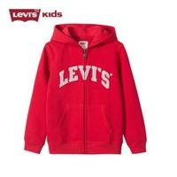 Levi's 李维斯 儿童抓绒连帽外套