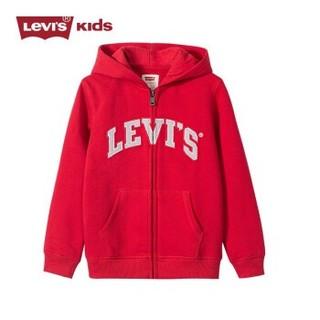 京东PLUS会员 : Levi's 李维斯 儿童抓绒连帽外套