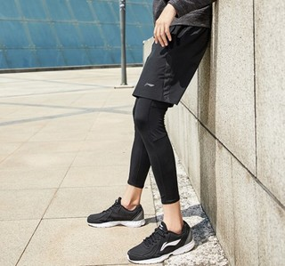 LI-NING 李宁 跑步系列 跑男士鞋 ARBL037 新基础黑/银色   39
