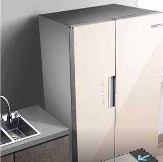 BOSCH 博世 KAS52E68TI 对开门冰箱 530L 铂金