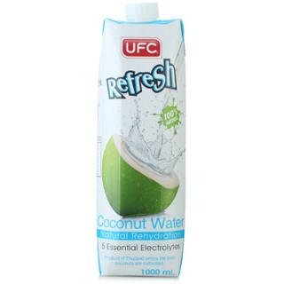 泰国进口 UFC 椰子水饮料1L*12瓶  +凑单品