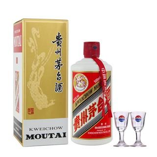 MOUTAI 茅台 53度酱香型白酒 500ml