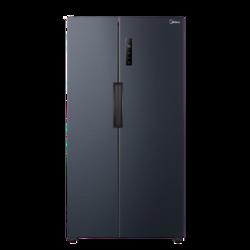 美的(Midea)电冰箱545升 对双开四门超薄智能家电变频19分钟急速净味 送货上门 BCD-545WKPZM(E) 莫兰迪灰