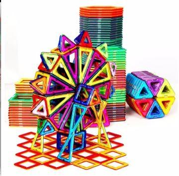 AprilSun 伊思朵 磁力片积木 180件纯磁力片