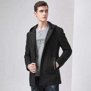 Hodo 红豆 HMDKO1D1609S5  男士羊毛呢子大衣