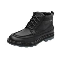 Clarks 其乐 Korik Rise GTX系列男士耐磨低跟系带工装靴261348517 黑色41