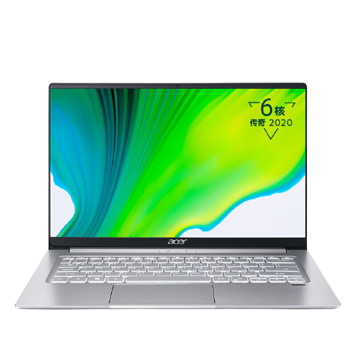 acer 宏碁 传奇系列 蜂鸟 Swift 3 14英寸 笔记本电脑 锐龙R5-4500U 16GB 512GB SSD 核显 72%NTSC 银色