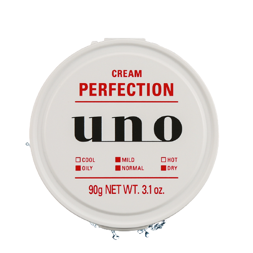 资生堂 UNO吾诺完美面霜90g 化妆水乳液美容液面霜面膜5效合一 清爽柑橘味 保湿滋润补水 *3件