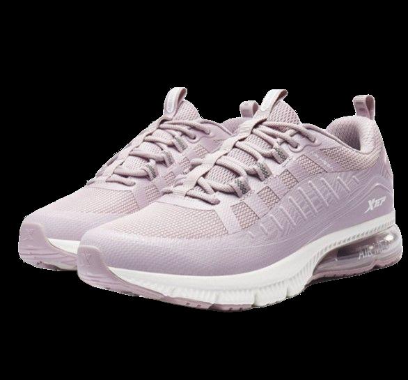 XTEP 特步 气能环系列 女士跑鞋 980118110586 粉红 35