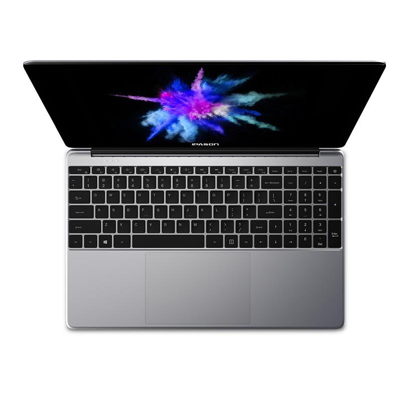 IPASON 攀升 MaxBook P1 15.6英寸 笔记本电脑 赛扬J4105 8GB 256GB SSD 核显 灰色