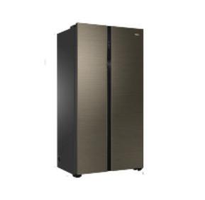 Haier 海尔 BCD-601WDGU 变频对开门冰箱 601L 卡其金 梦境极光