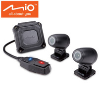 Mio宇达电通MiVue M760D 索尼星光夜视前后双镜头双录GPS无屏隐藏 手机wifi 机车摩托车行车记录仪