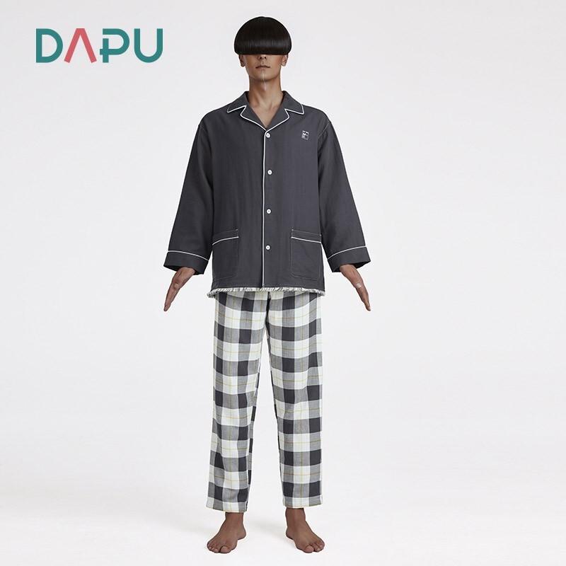 DAPU 大樸 AE3F12209 情侶款流蘇雙層紗套裝 女士 黃色 S碼
