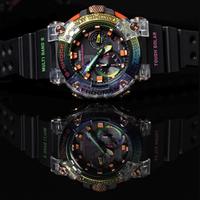 CASIO 卡西欧  GWF-A1000BRT-1APR FROGMAN 彩虹蛙人男士腕表