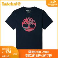 Timberland添柏岚男装20新款迷彩印花圆领短袖T恤|A2B4E *6件