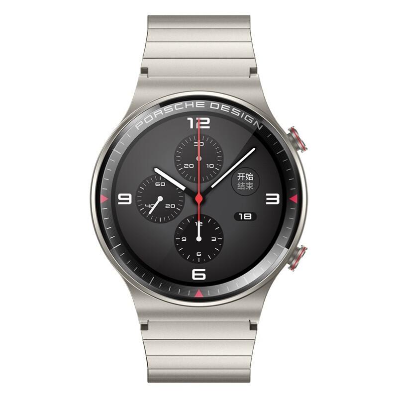 HUAWEI 华为 WATCH GT2 智能手表 保时捷设计款 46mm 灰