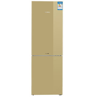 博世(BOSCH) 321升 风冷无霜 双门冰箱 电脑温控 LED内显(流沙金) BCD-321W(KGN33V2QEC)