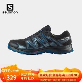 萨洛蒙(Salomon)男款 户外运动防水透气舒适耐磨日常通勤徒步鞋 XA SIERRA GTX 黑色 412562 *3件