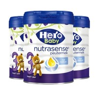 Hero Baby 天赋力 白金版 婴幼儿配方奶粉 3段700g 3罐装