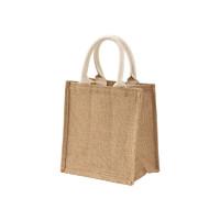 MUJI 无印良品 黄麻 简易收叠购物袋 A6