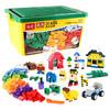 倍奇 儿童积木玩具创意DIY小颗粒拼装玩具拼插3-6周岁男女孩玩具颗粒 1000颗粒+赠包+底板+送700颗立体积木+大桶