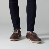 Clarks 男系带低帮休闲皮鞋