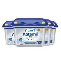 Aptamil 爱他美 白金 婴儿奶粉 pre段 800g 4罐装