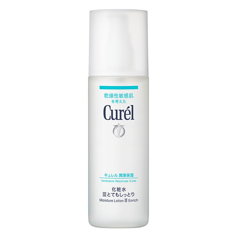 Curel 珂润 润浸保湿脸部护理系列润浸保湿III号化妆水 150ml 滋润型