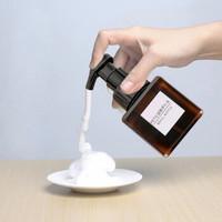 柯锐迩 按压式慕斯泡沫起泡瓶 洗面奶洗手液起泡器 按压式洗手液空瓶子分装瓶250ml棕色