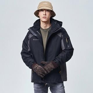 TOREAD 探路者 TAWH91201 男/女款三合一冲锋衣 *2件