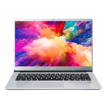 宏碁(Acer)墨舞EX214 14英寸轻薄高性能笔记本(十代酷睿i5 8G 512GSSD 2G独显 IPS 全金属 指纹识别 Wifi6)银