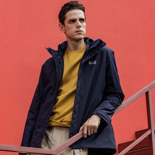 Jack wolfskin 狼爪 5118354 男款软壳三合一冲锋衣+双肩包
