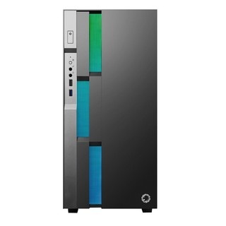 GAMEMAX 游戏帝国 布洛芬C3 RGB E-ATX机箱 半侧透 钛灰色