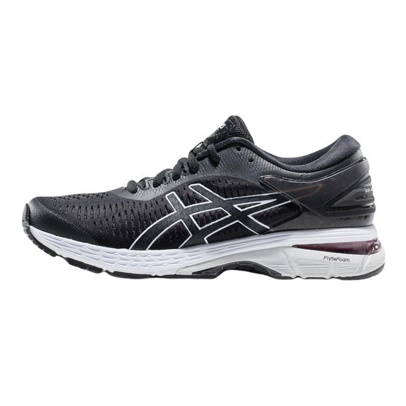 ASICS 亚瑟士 Gel-Kayano 25 女士跑鞋 1012A026-003 黑色/冰川灰 37