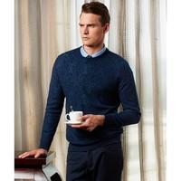 VICUTU 威可多 VBW16381449 男士提花针织衫羊毛衫