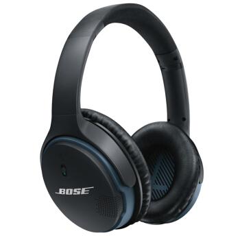 超值黑五、银联爆品日 : Bose SoundLink 无线覆耳式耳机 II 黑色 认证翻新版