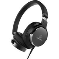 audio-technica 铁三角 SR5 耳罩式头戴式有线耳机