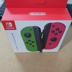 任天堂原装全新盒装Switch游戏手柄  Joy-Con左右手柄   绿粉一对