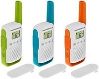 Motorola 摩托罗拉 T42 Talkabout PMR446 双向对讲机便携式收音机(3 件装) *3件