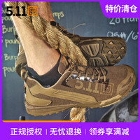 5.11 16001侦察兵徒步鞋 511男低帮战术户外跑步靴夏季轻便透气