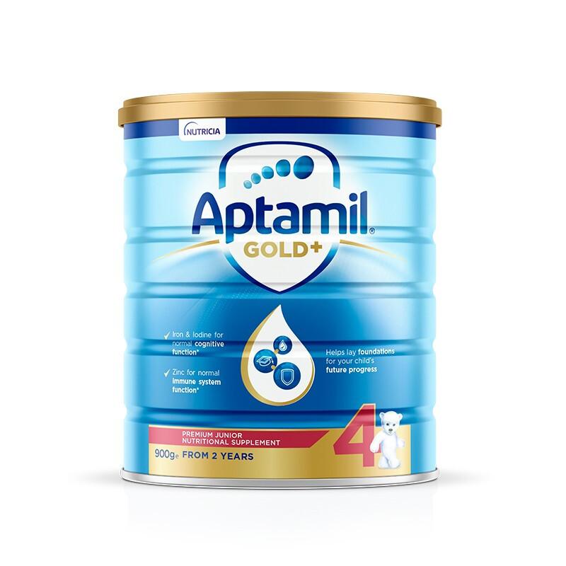 Aptamil 爱他美 金装版 儿童奶粉 澳版 4段 900g