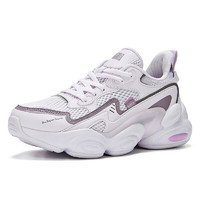 361° 逆型街机系列 女士休闲运动鞋 682026766-2 玫瑰水色/雾霾紫