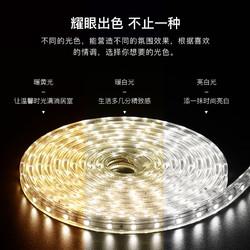 雷士照明led灯带客厅家用变色超亮灯条软长条三色七彩智能线灯