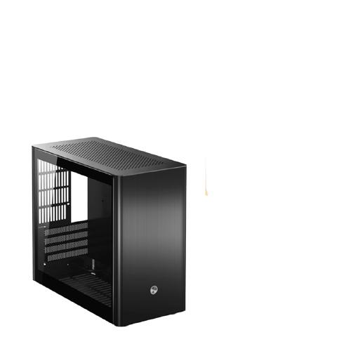 JONSBO 乔思伯 V9 M-ATX铝机箱(垂直风道/SFX电源/钢化玻璃侧透)