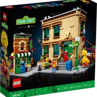 黑卡会员:LEGO 乐高  Ideas系列 21324 芝麻街(123 Sesame Street)