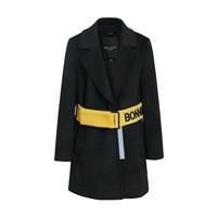 Meters bonwe 美特斯邦威 239912 女装中长款大衣